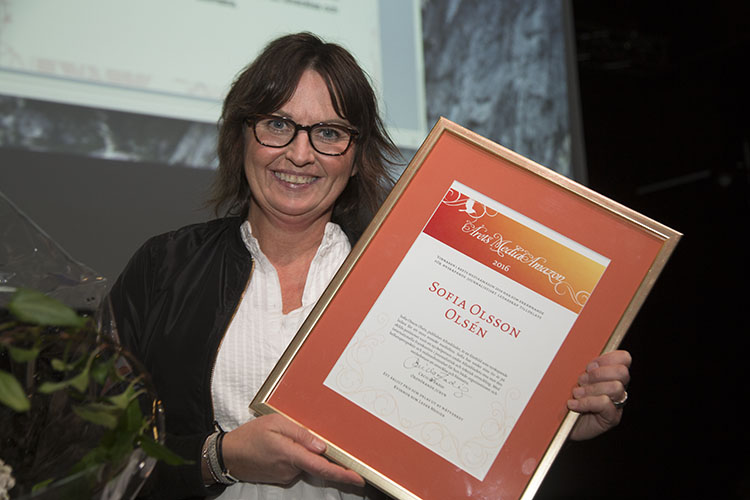 Sofia Olsson Olsén, publisher Aftonbladet Årets MediaAmazon 2016!